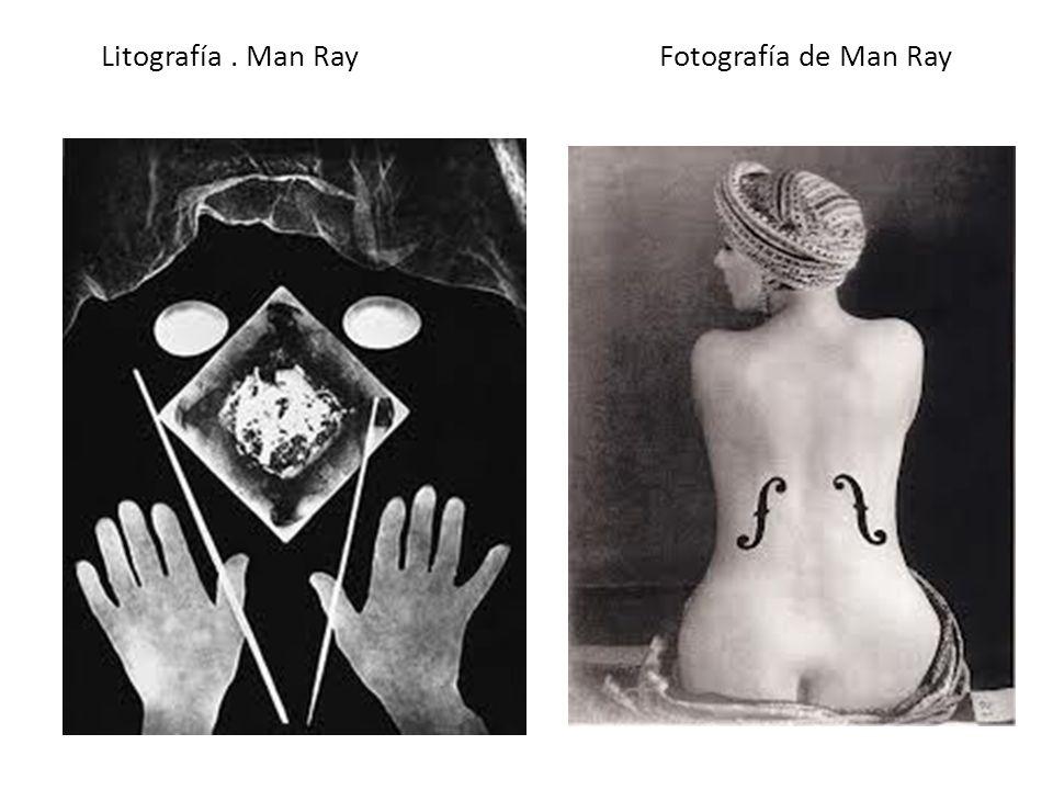 Litografía . Man Ray Fotografía de Man Ray