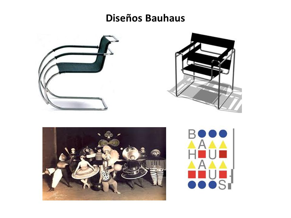 Diseños Bauhaus