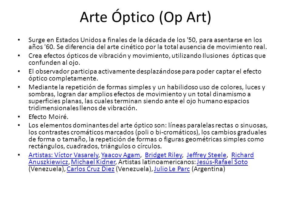 Arte Óptico (Op Art)