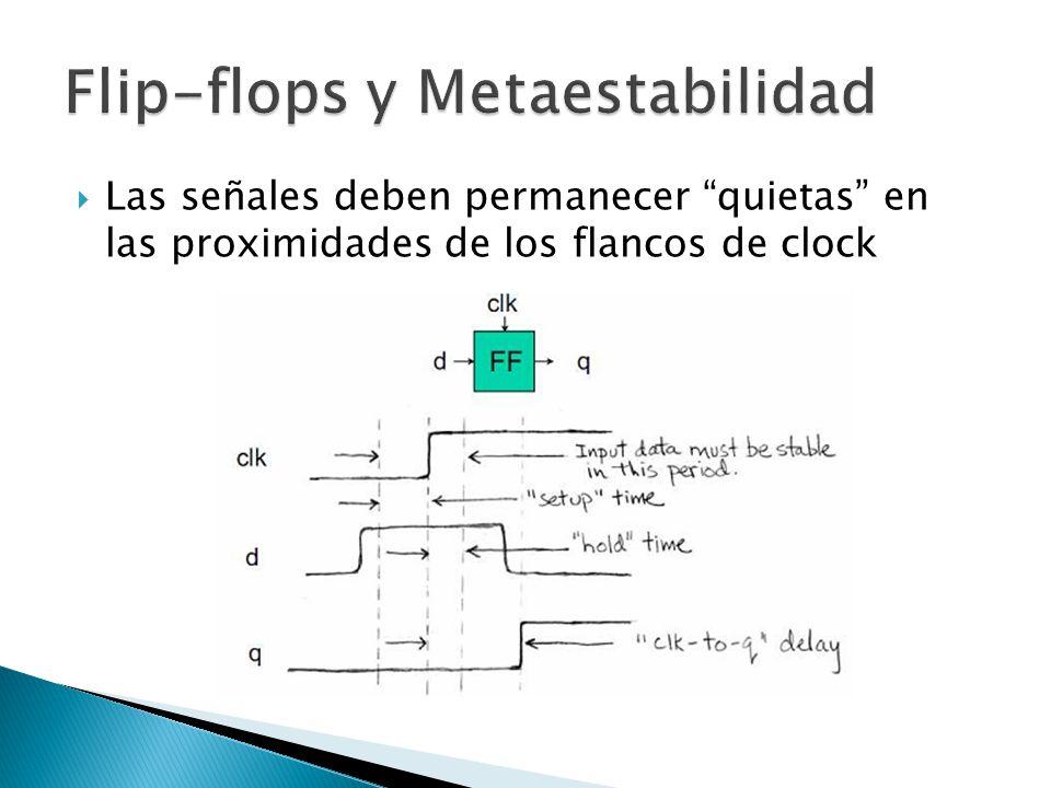 Flip-flops y Metaestabilidad
