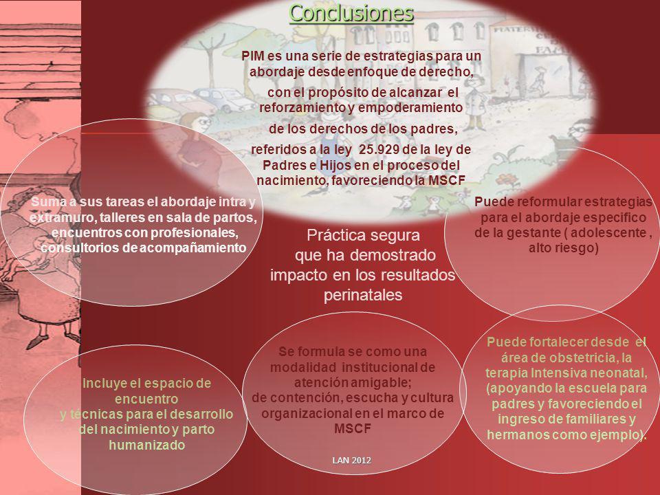 Conclusiones Práctica segura