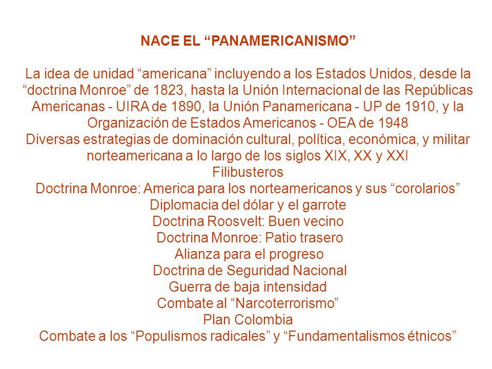 NACE EL PANAMERICANISMO