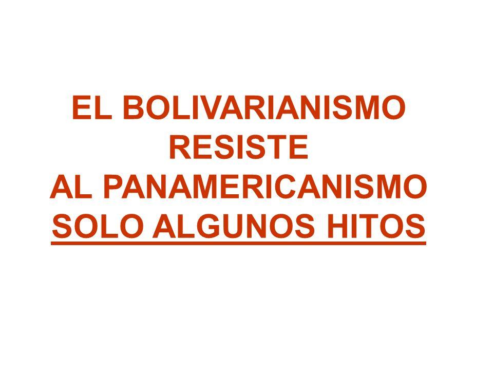 EL BOLIVARIANISMO RESISTE