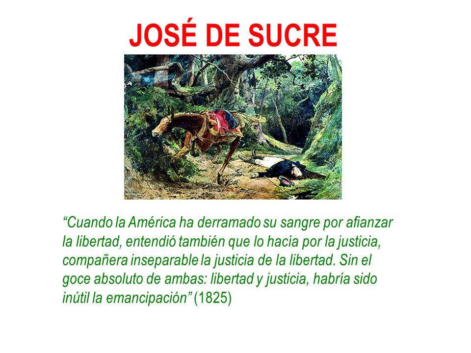 JOSÉ DE SUCRE