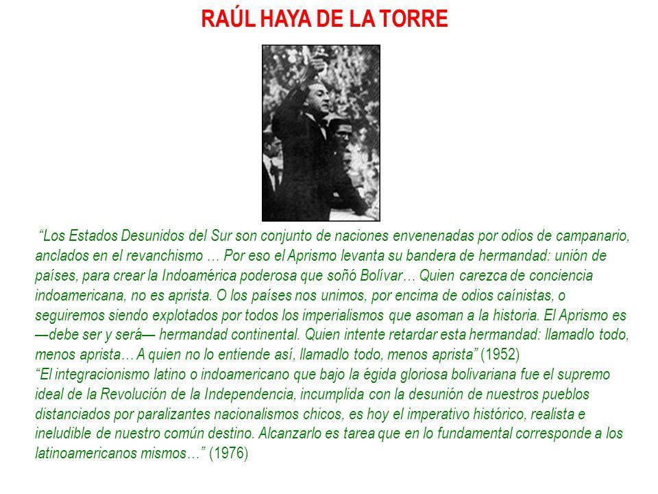 RAÚL HAYA DE LA TORRE