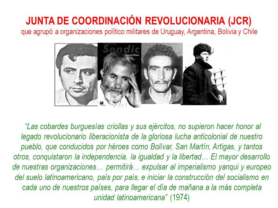 JUNTA DE COORDINACIÓN REVOLUCIONARIA (JCR)