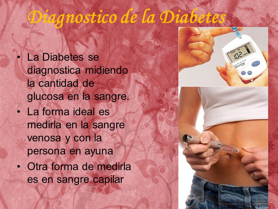 Diagnostico de la Diabetes