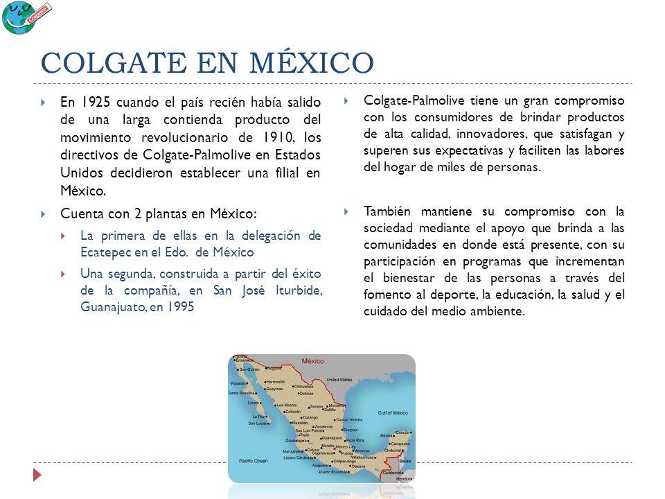 COLGATE EN MÉXICO