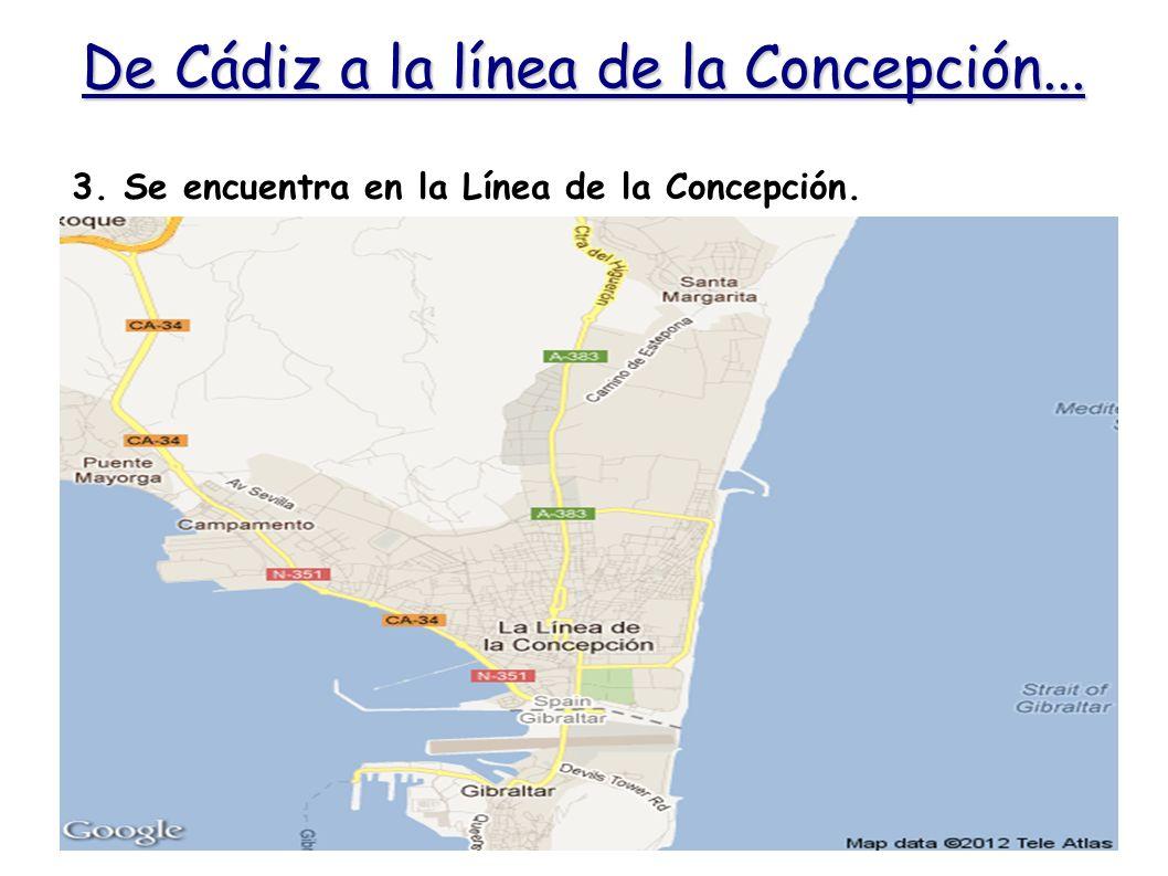 De Cádiz a la línea de la Concepción...