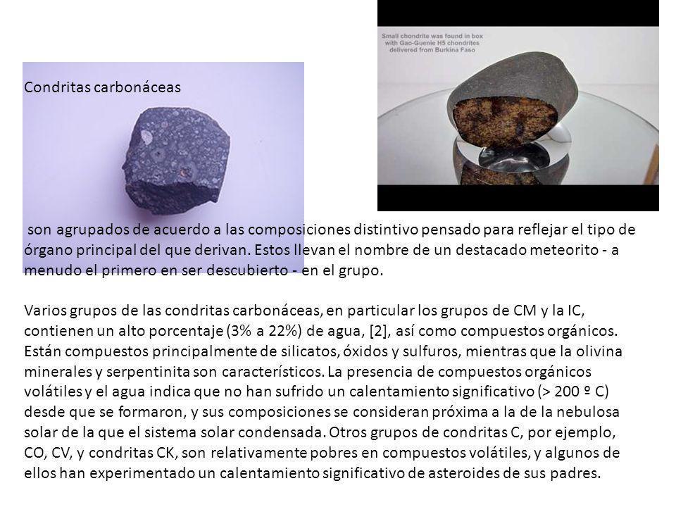 Condritas carbonáceas