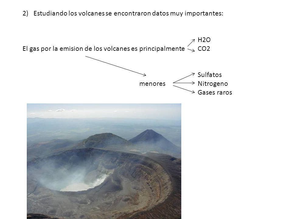 Estudiando los volcanes se encontraron datos muy importantes:
