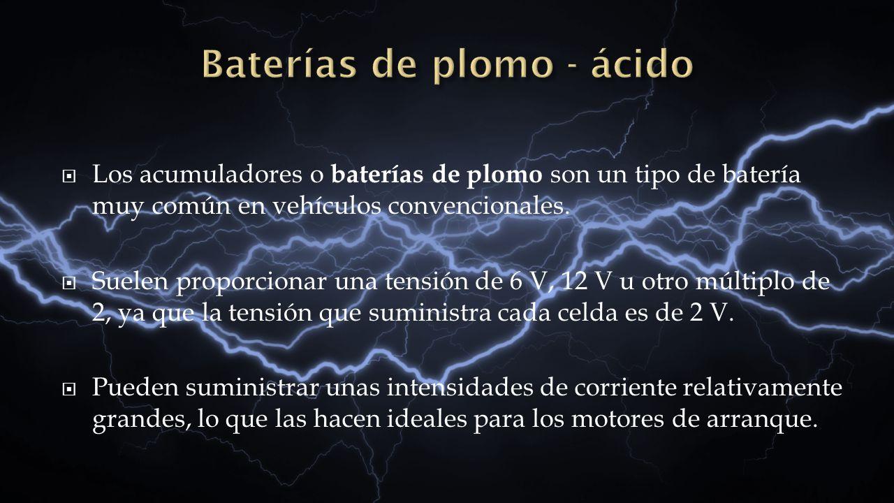 Baterías de plomo - ácido
