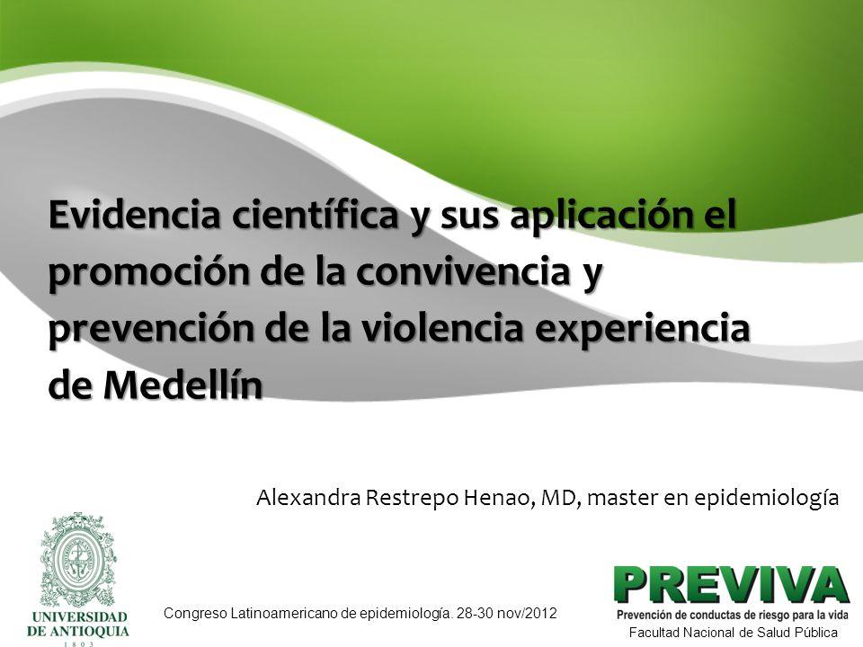 Alexandra Restrepo Henao, MD, master en epidemiología