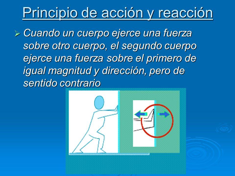 Principio de acción y reacción