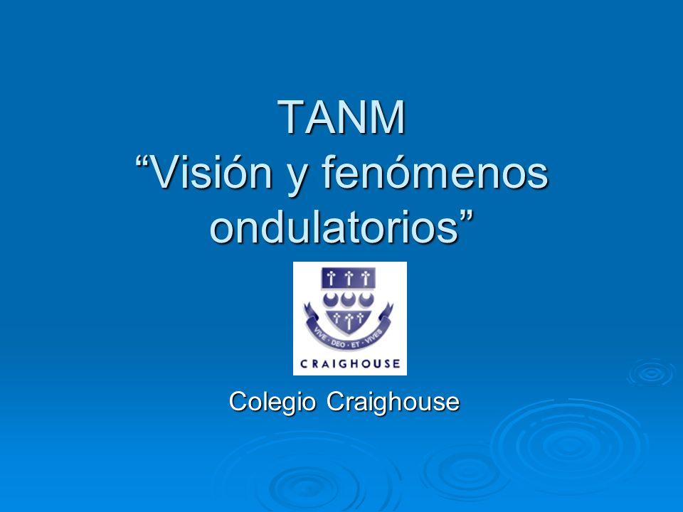 TANM Visión y fenómenos ondulatorios