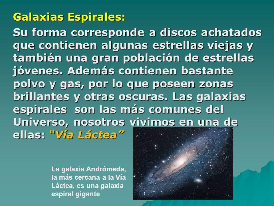 Galaxias Espirales: