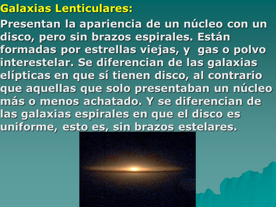 Galaxias Lenticulares: