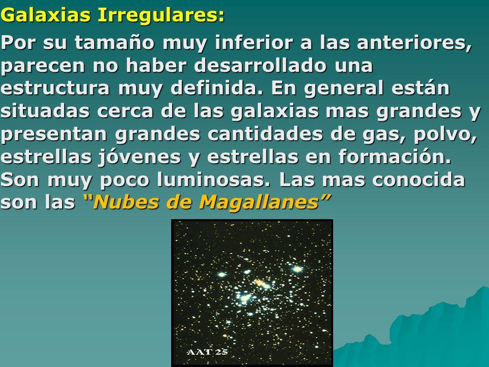Galaxias Irregulares: