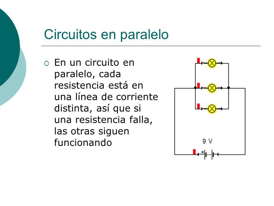 Circuitos en paralelo