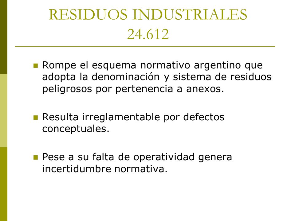 RESIDUOS INDUSTRIALES 24.612