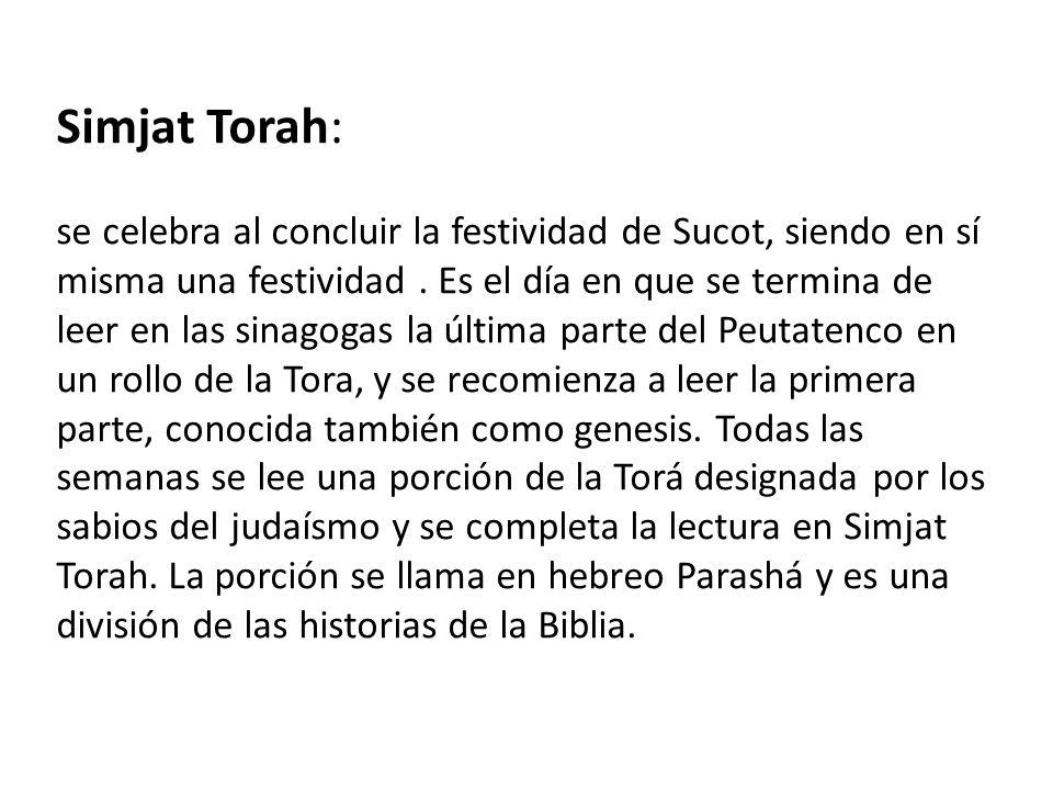 Simjat Torah: