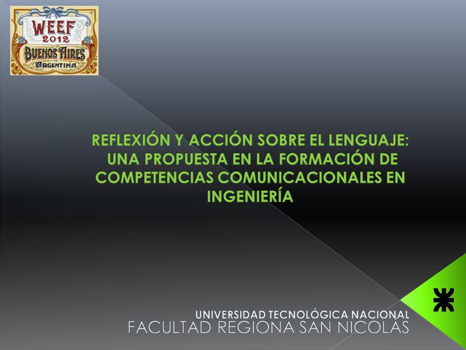 UNIVERSIDAD TECNOLÓGICA NACIONAL FACULTAD REGIONA SAN NICOLÁS