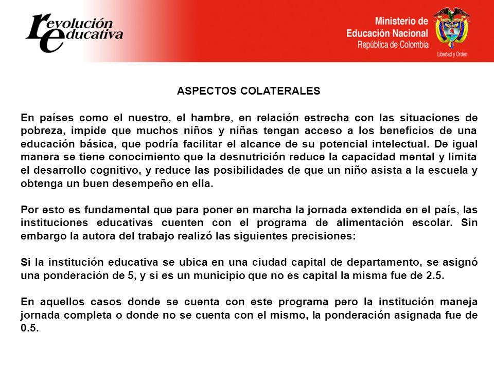 ASPECTOS COLATERALES