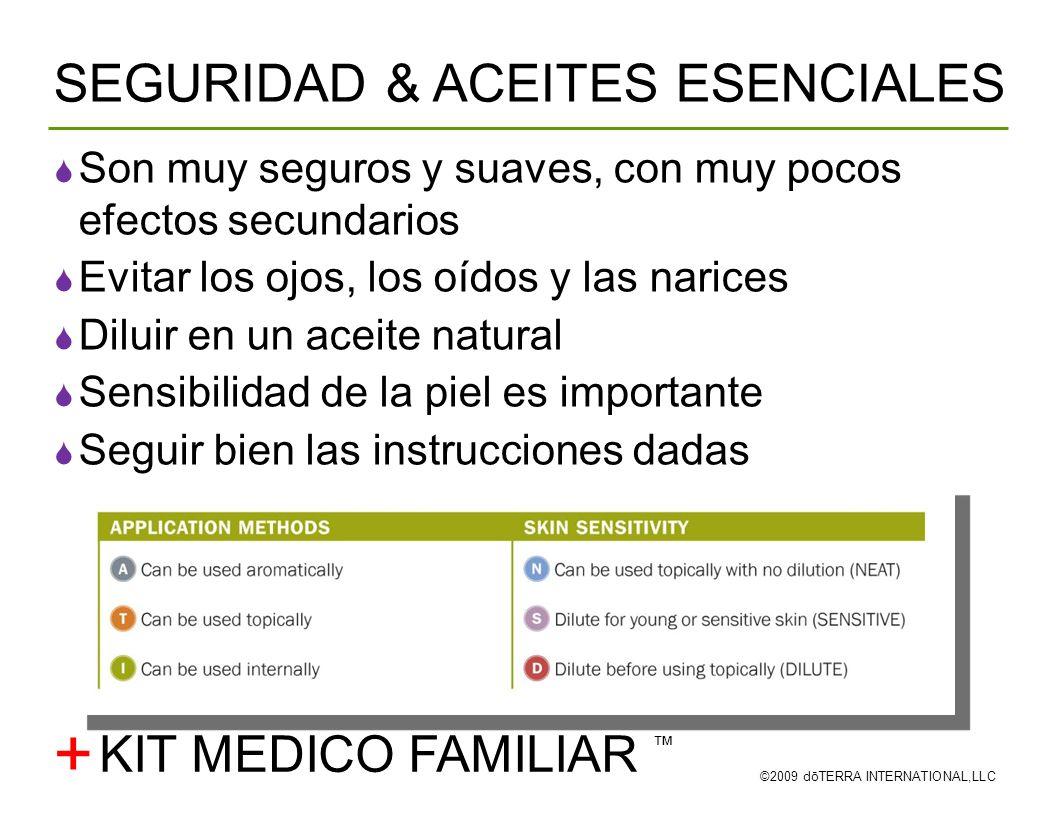 + SEGURIDAD & ACEITES ESENCIALES KIT MEDICO FAMILIAR ™