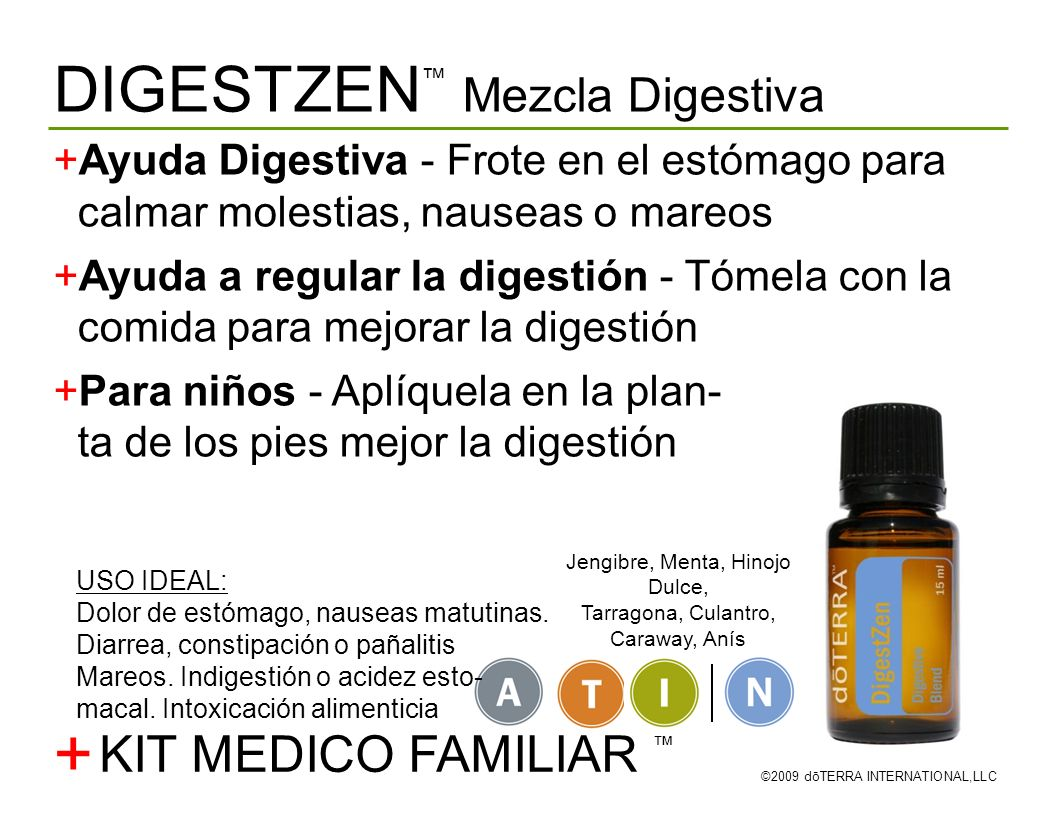 + DIGESTZEN™ Mezcla Digestiva KIT MEDICO FAMILIAR ™