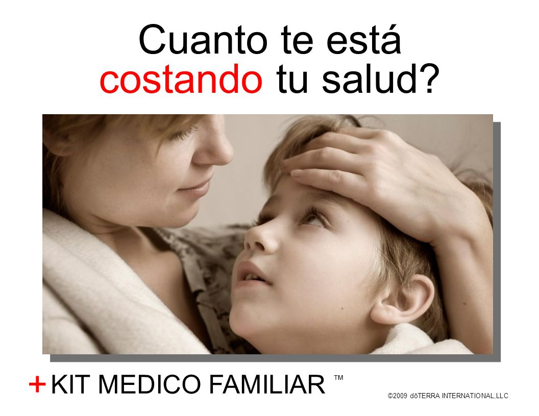 Cuanto te está costando tu salud + KIT MEDICO FAMILIAR ™
