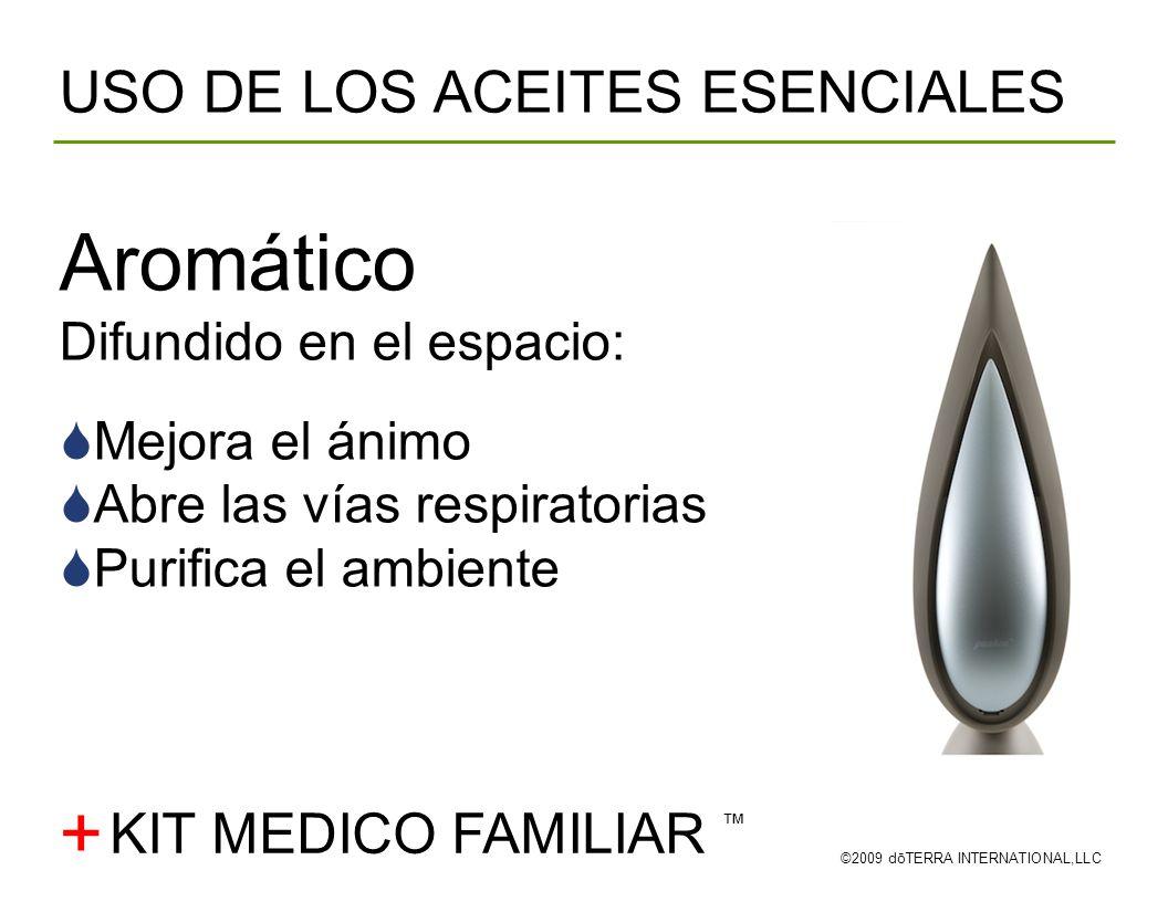 Aromático + USO DE LOS ACEITES ESENCIALES KIT MEDICO FAMILIAR ™