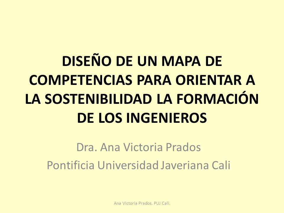 Dra. Ana Victoria Prados Pontificia Universidad Javeriana Cali