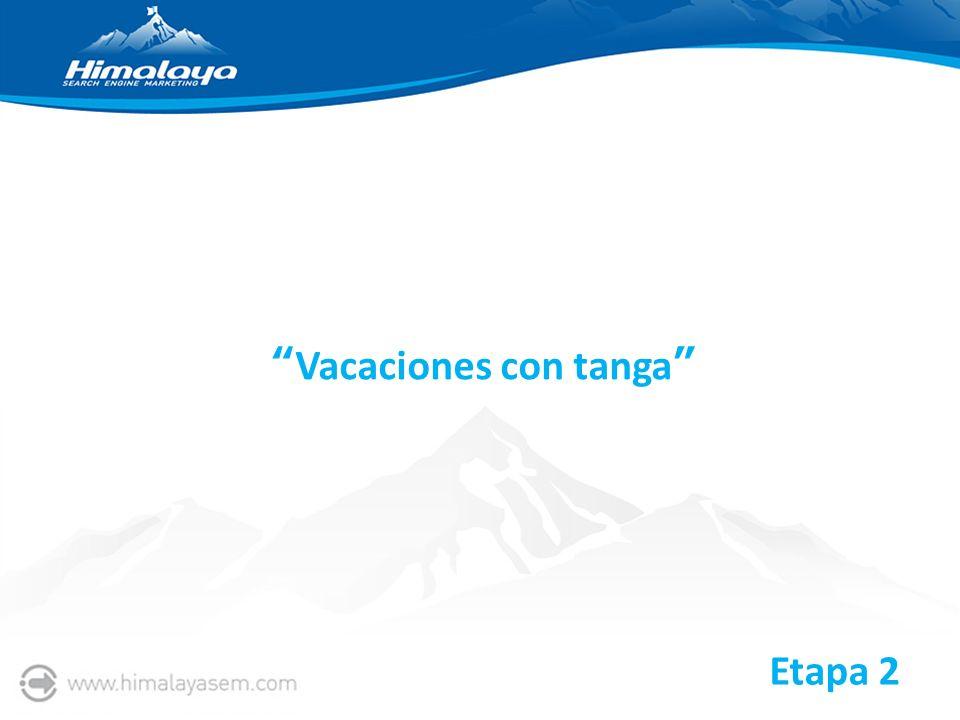 Vacaciones con tanga