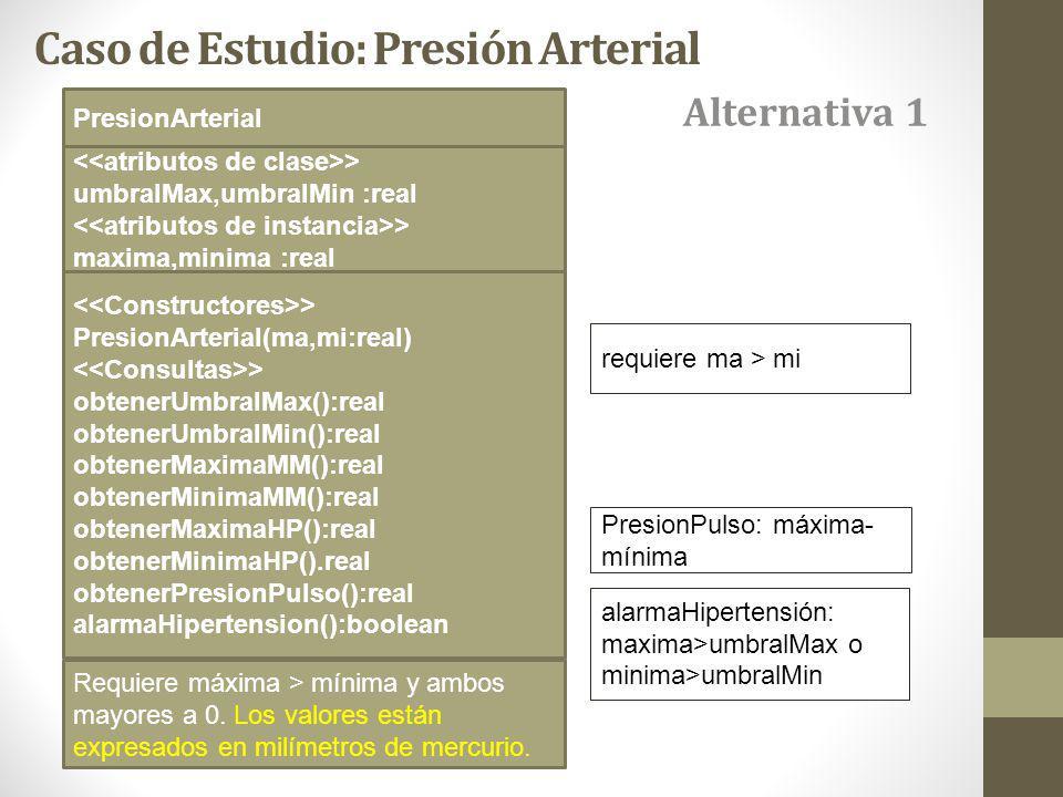 Caso de Estudio: Presión Arterial