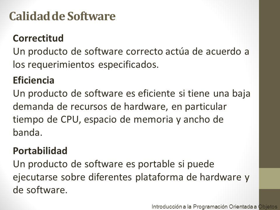 Calidad de Software Correctitud