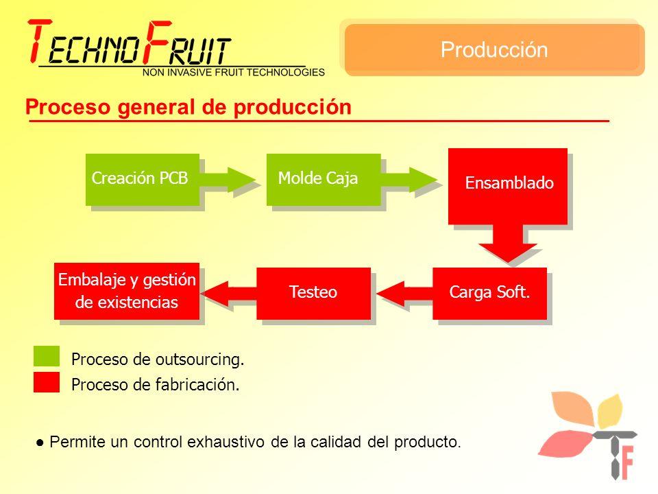 Proceso general de producción