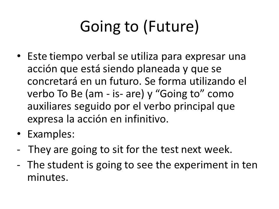 Going to (Future)