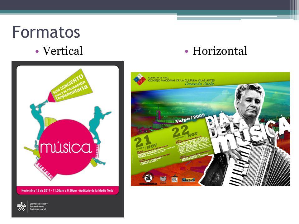 Formatos Vertical Horizontal