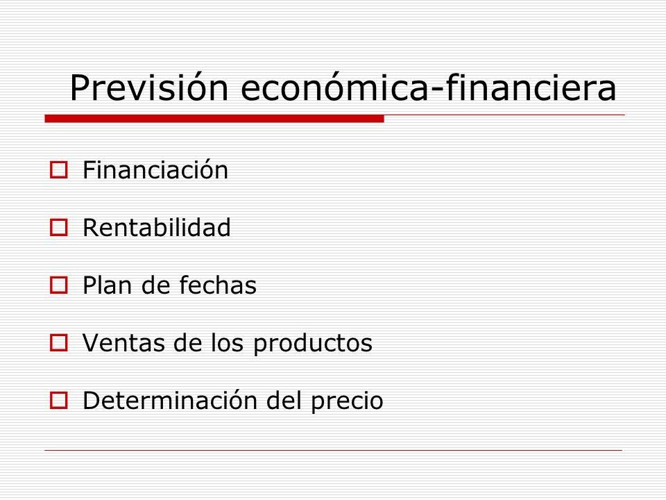 Previsión económica-financiera