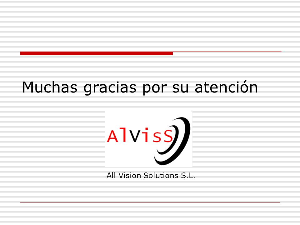 All Vision Solutions S.L.