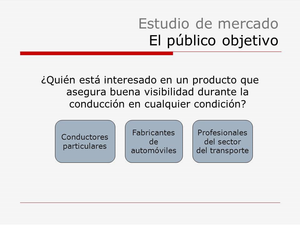 Estudio de mercado El público objetivo