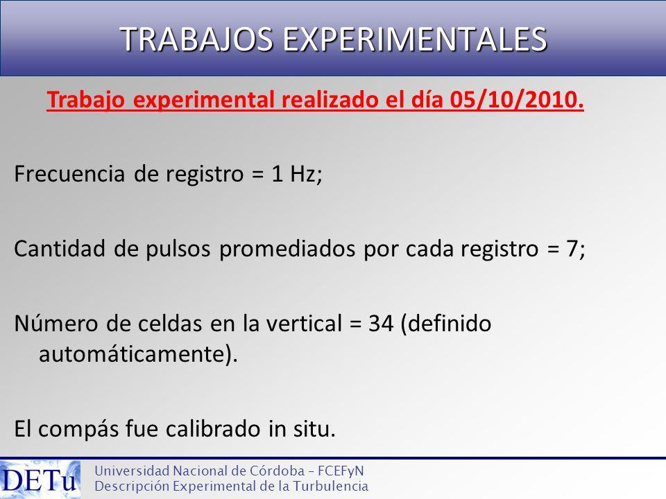 TRABAJOS EXPERIMENTALES