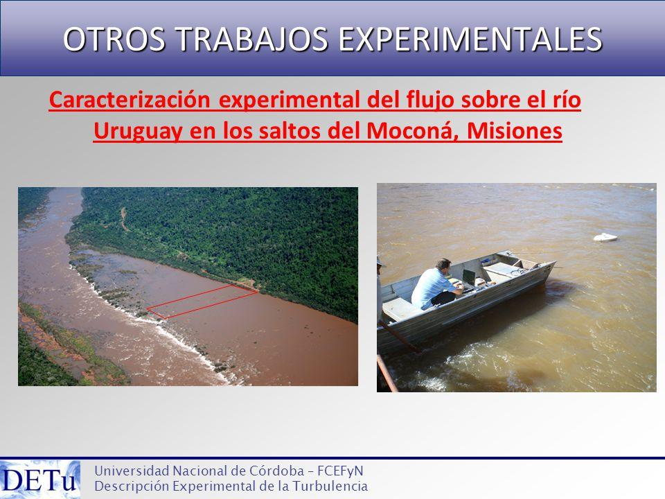 OTROS TRABAJOS EXPERIMENTALES