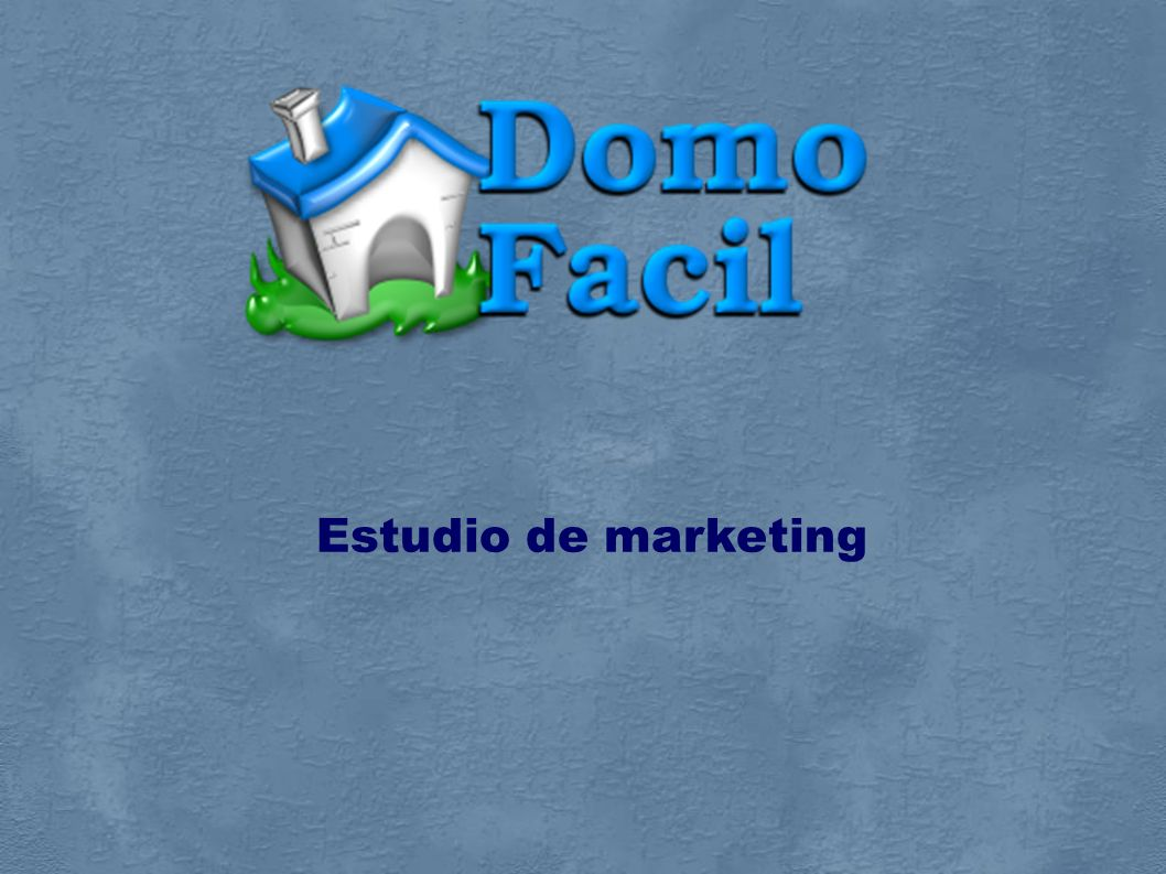 Estudio de marketing