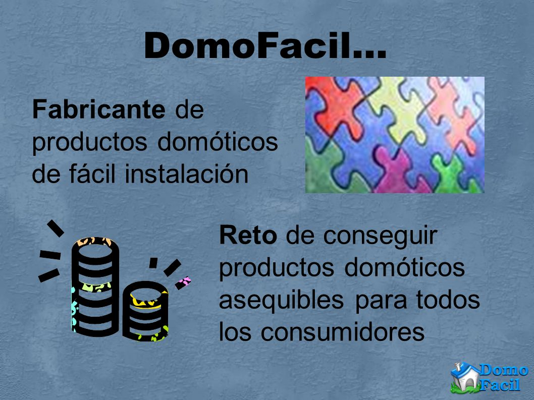 DomoFacil… Fabricante de productos domóticos de fácil instalación