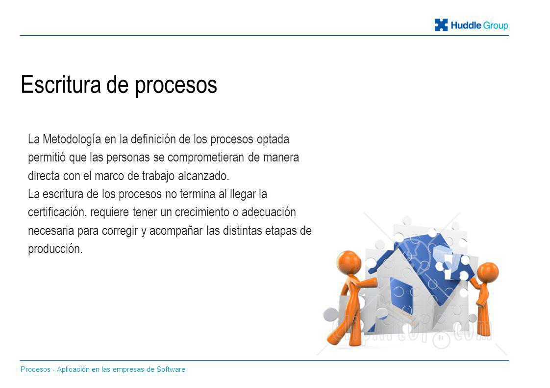 Escritura de procesos