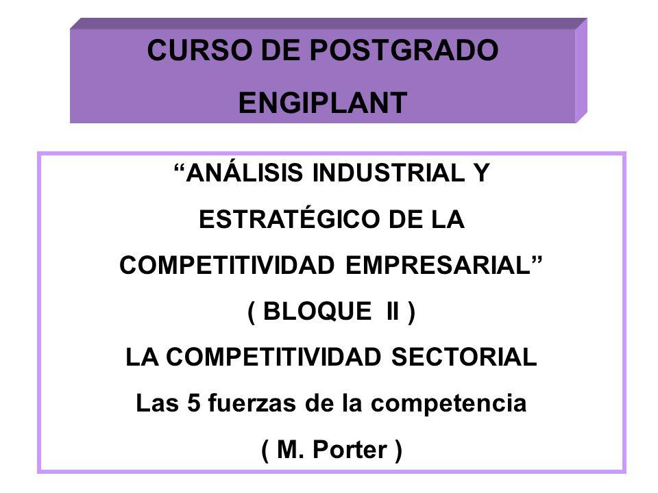 CURSO DE POSTGRADO ENGIPLANT