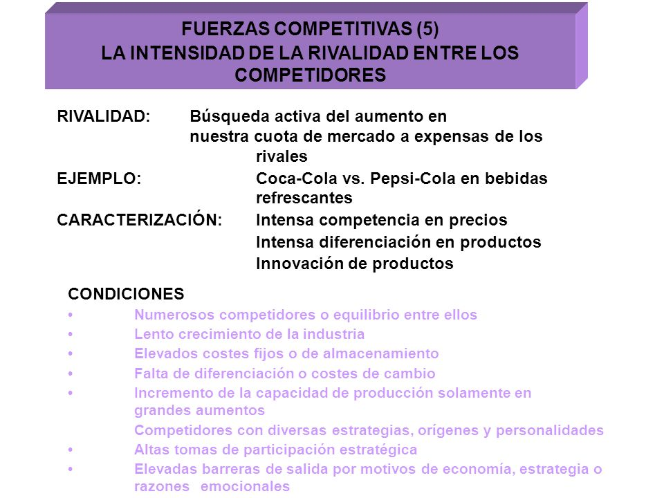 FUERZAS COMPETITIVAS (5)