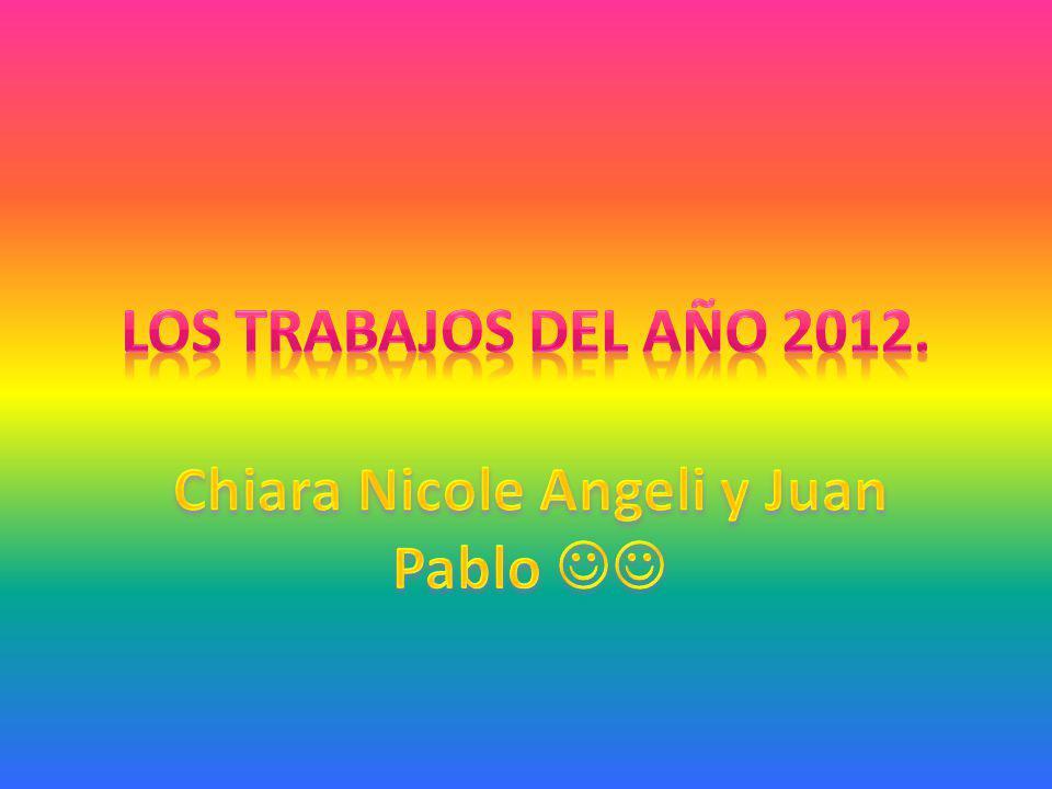 Chiara Nicole Angeli y Juan Pablo 