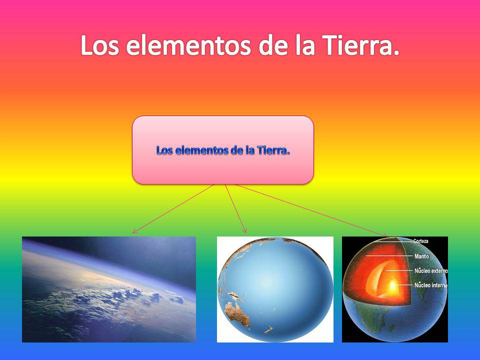 Los elementos de la Tierra.